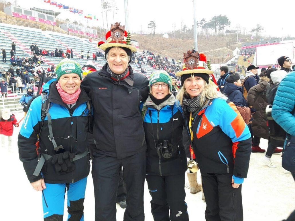 Schonacher Fans Unterstützen Olympioniken Skiteam Skiclub Schonach